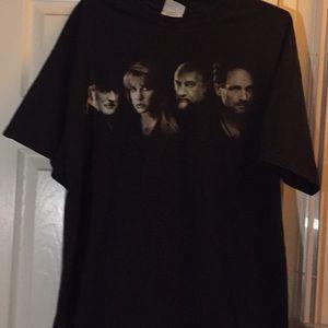 Fleetwood Mac Athentic  Tour  tee